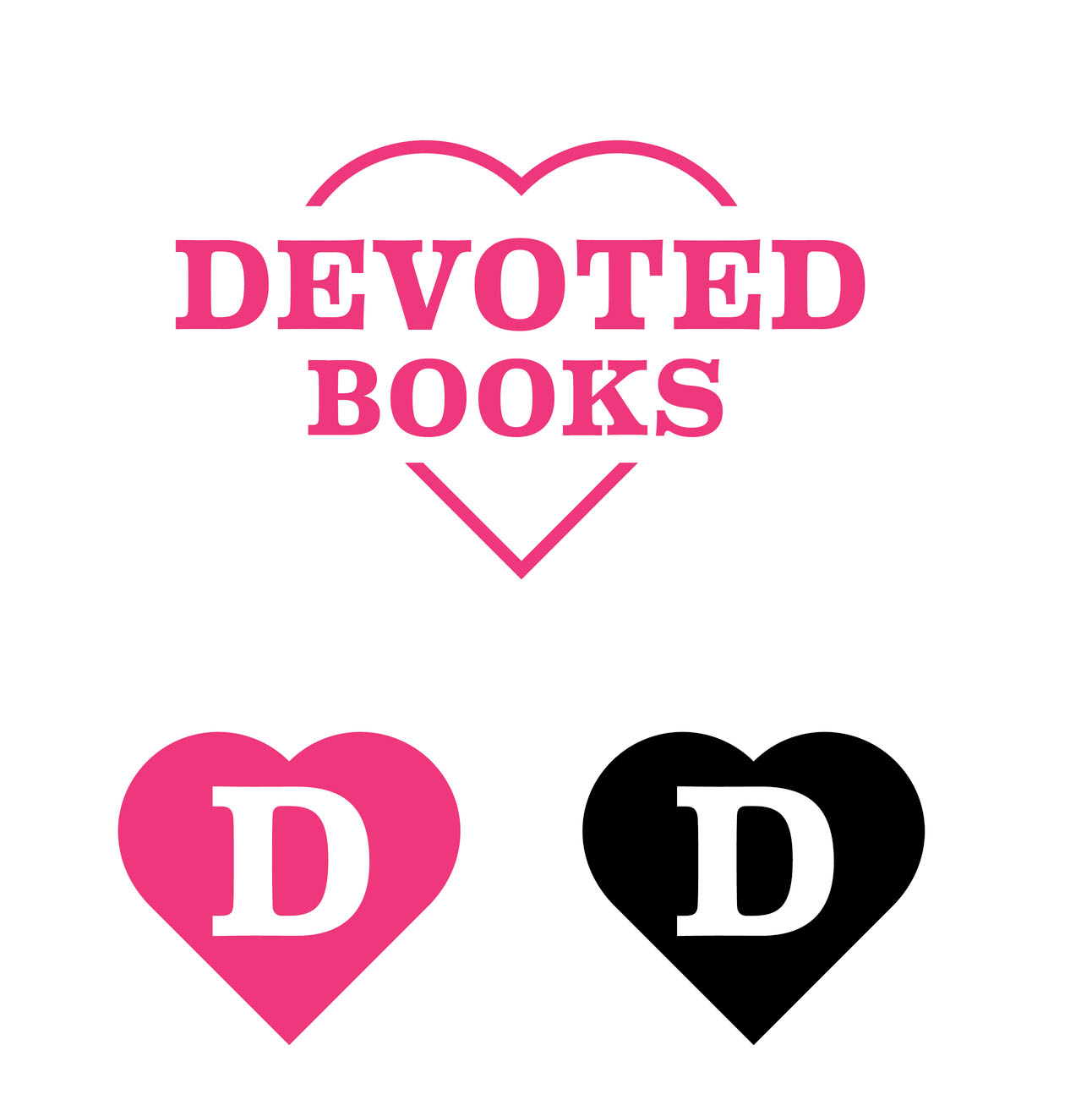 Logo and Branding for Brighton Based Start Up Devoted Books